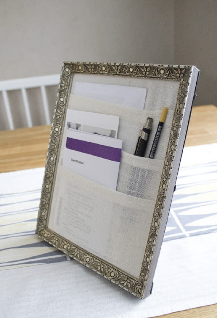 10 hostel room hacks to keep your life organized hostel hunting cut a piece of cardboard to the appropriate size to fit the selected picture frame create pockets by wrapping fabric around the piece of cardboard and spiritdancerdesigns Images