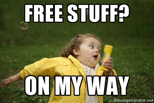 Free stuff meme
