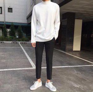 Slim Fit Sweaters