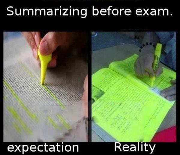 summarizing-before-exam