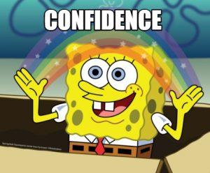 spongebob-confidence