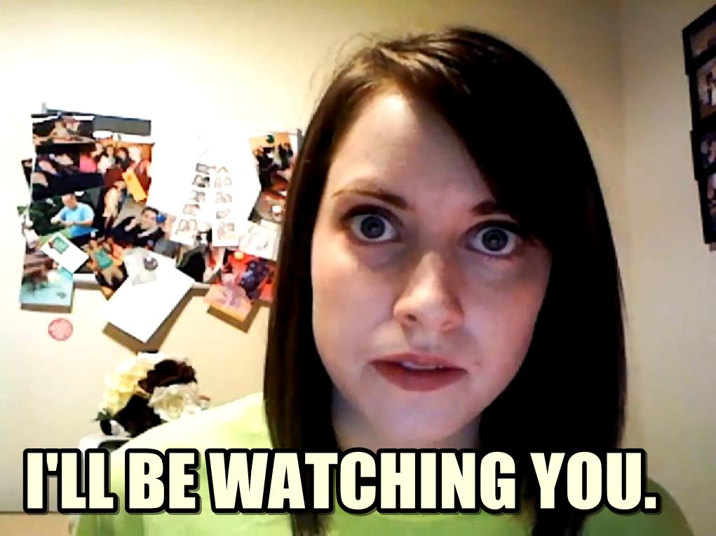 Stalker Girl Yolanda memes | quickmeme