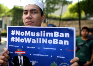 What do KDU students think about this controversial ban in the USA?