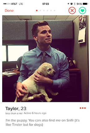 tinder-puppy