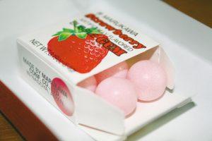 chewing-gum-stroberi