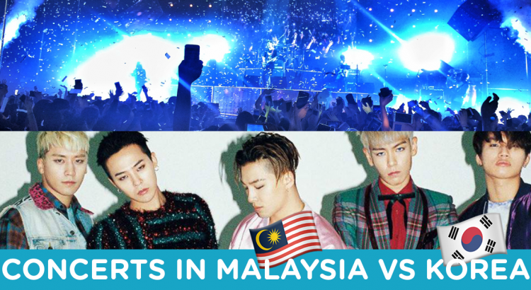 Experiencing Concerts In Malaysia VS Korea | Hostel Hunting Blog