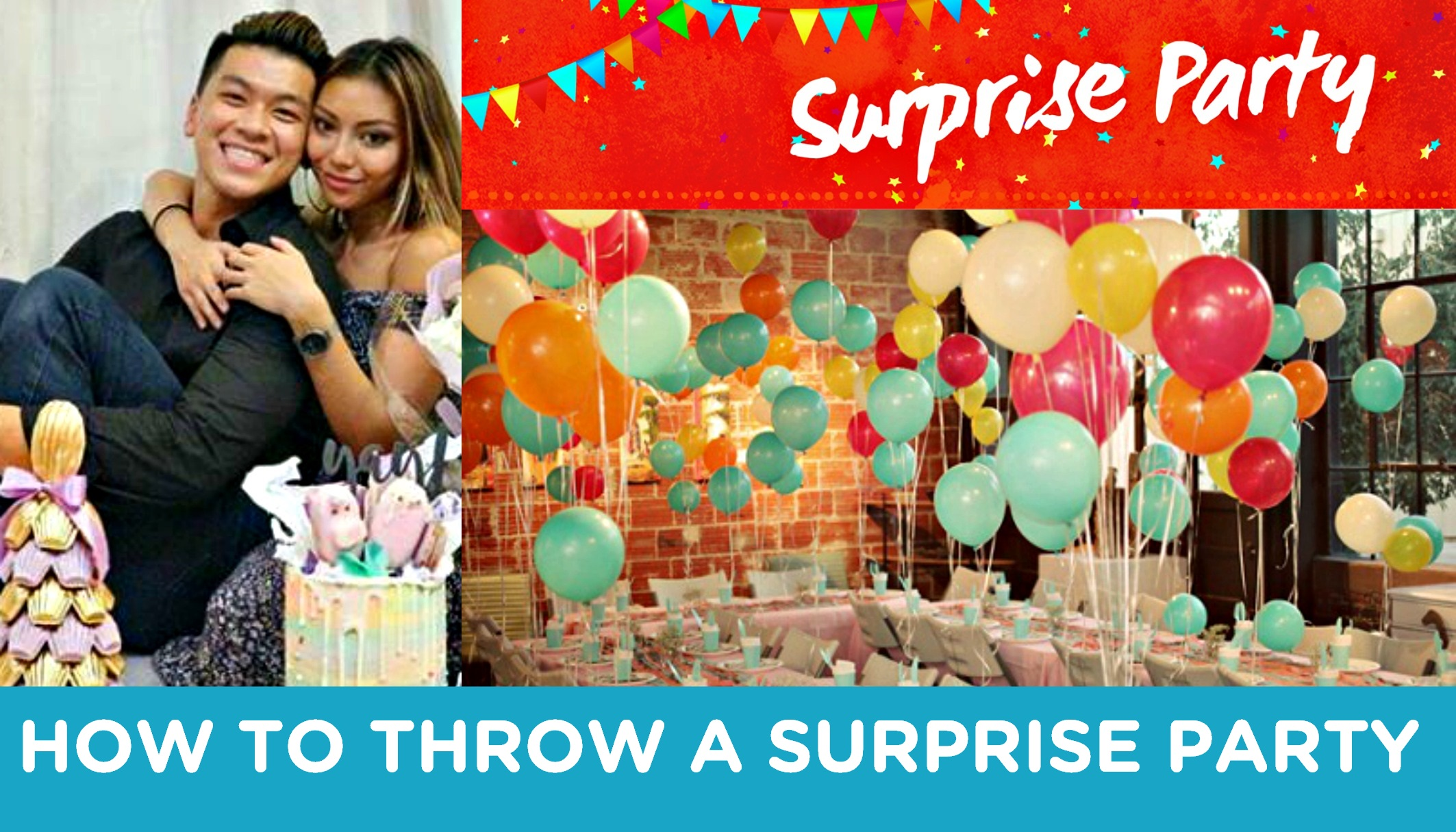 how to plan a surprise party This is a guide about planning a surprise party planning a surprise party can be  a lot of fun keeping the  ask her friends who are invited about ideas may be.
