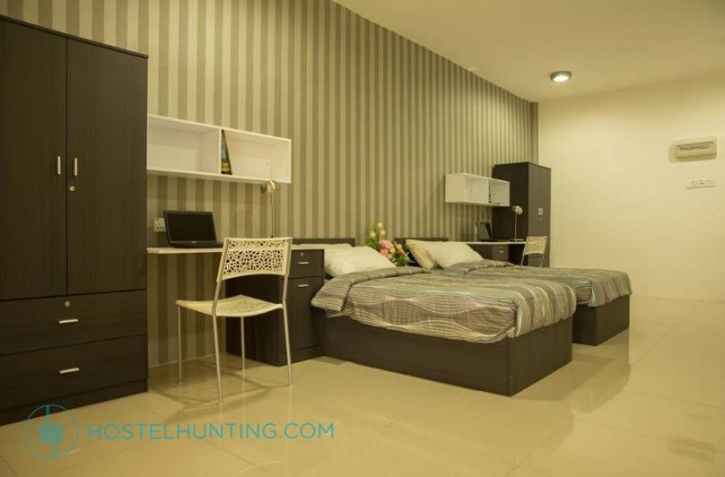 kampar putra student room accommodation hostel rent cheap utar taruc west city soho