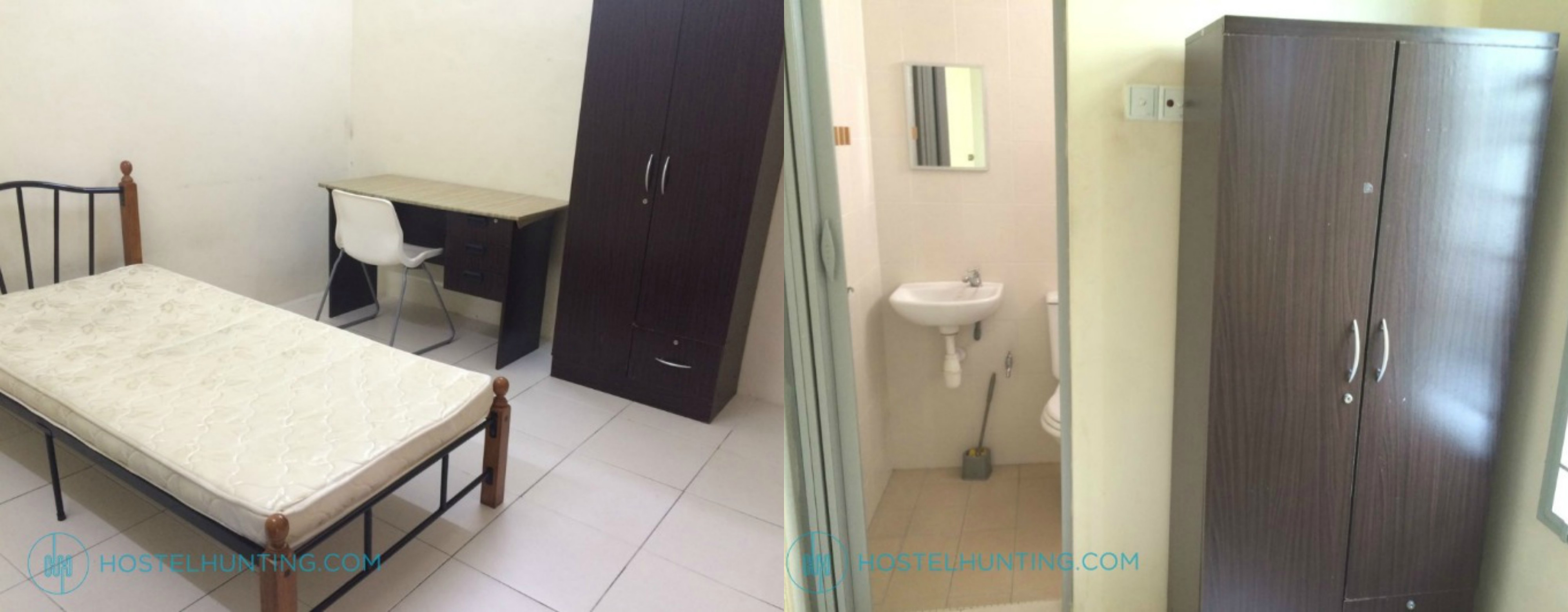 taman-bandar-barat kampar students accommodation hostel room rent